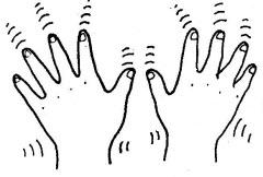 Body Shaking Clip Art
