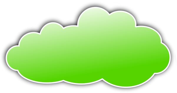 Wpclipart Com Weather Clouds Color Clouds Color Cloud Green Png Html