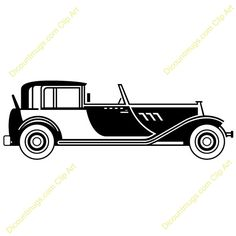 Clipart 10500 V 46   1920s Classic Car Mugs T Shirts Picture Mouse