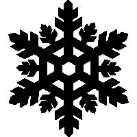 Snowflake Vector Clipart - Clipart Kid