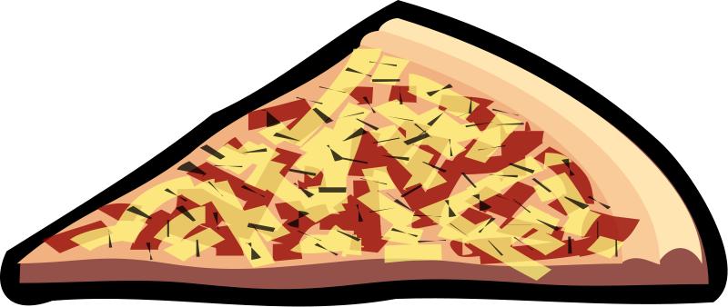 Pizza Slice Clipart - Clipart Kid