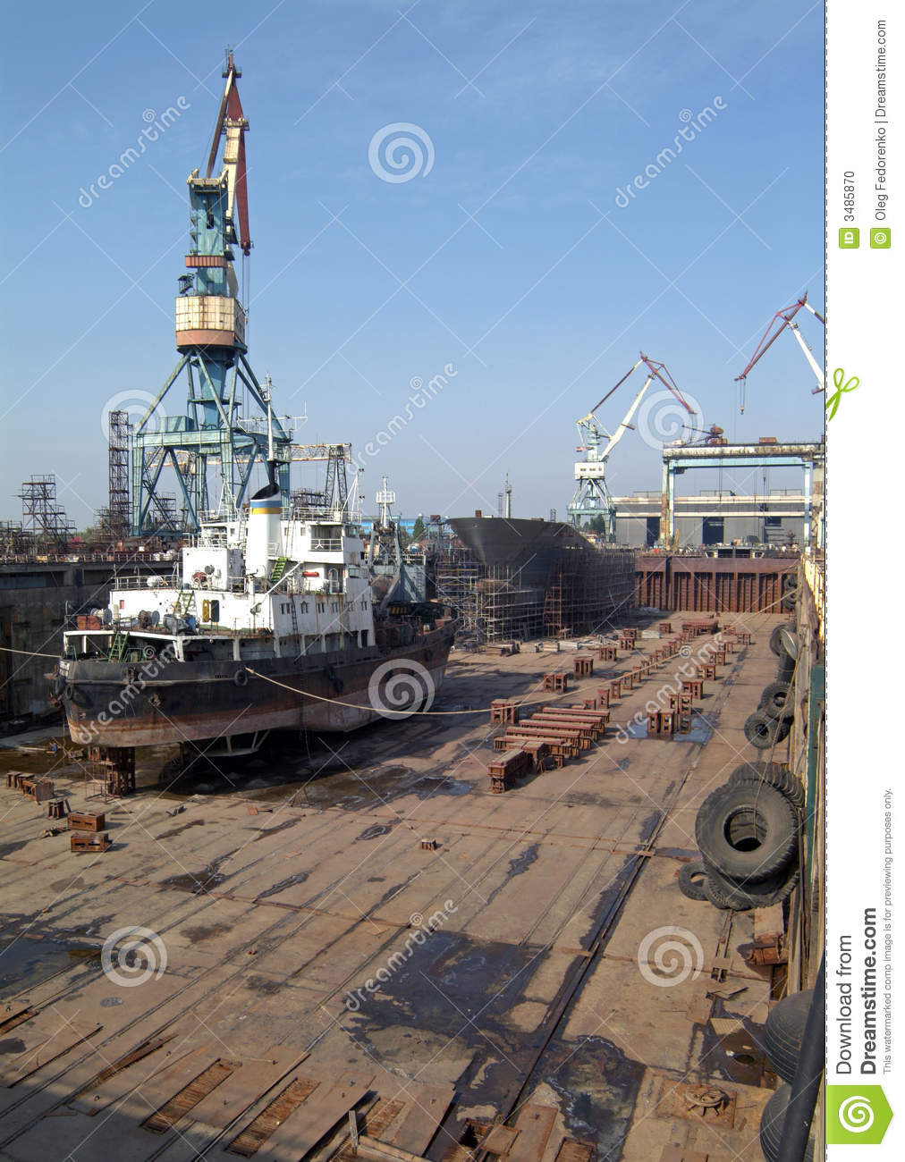 Shipbuilding  Dok  Main Sector Building The Multi Purpose Dry Cargo