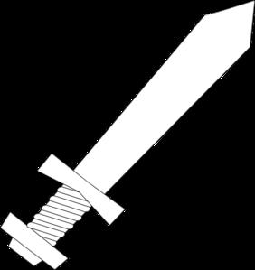 Clip Art Sword Clip Art sword art online clipart kid black and white clip at clker com vector online