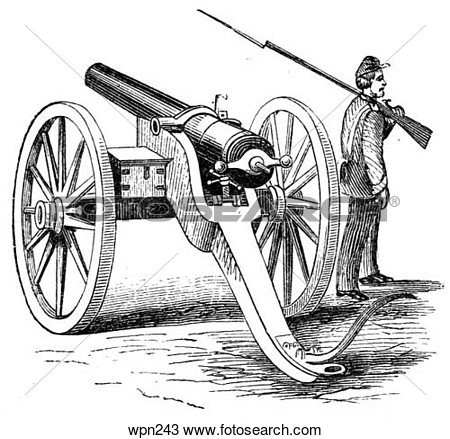 Civil War Cannon Clipart - Clipart Kid