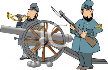 Civil War Cannon Clipart - Clipart Kid