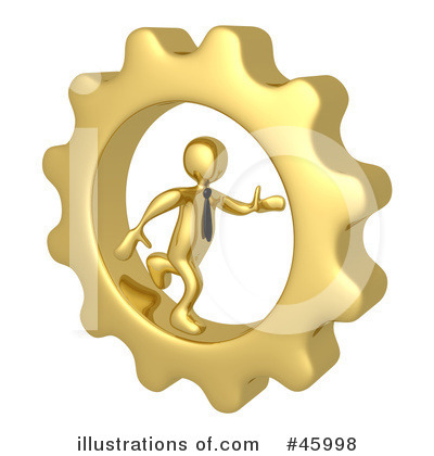 Cog Clipart  45998 By 3pod   Royalty Free  Rf  Stock Illustrations