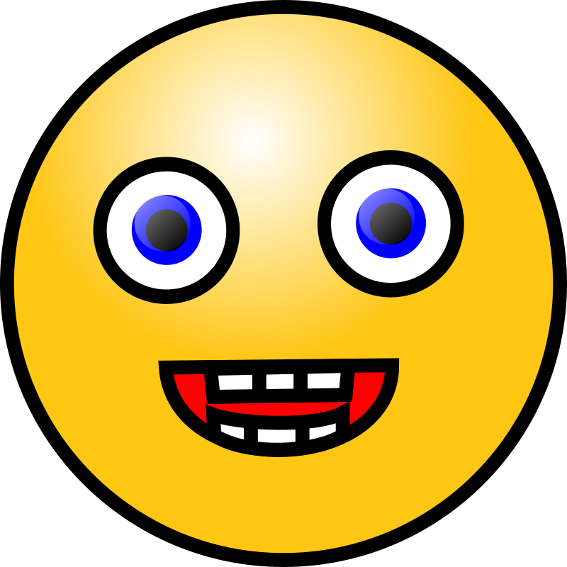 Emoticons  Laughing Face By Nicubunu   Laughing Face