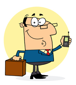 Lawyer Clipart Image   Cartoon Of A Well Dressed Lawyer Or Businessman