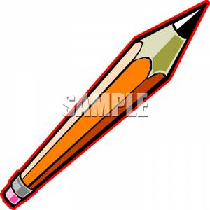 Sharp Pencil   Royalty Free Clipart Picture