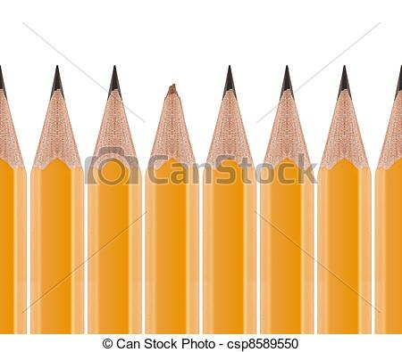 Stock Photography Of Broken Pencil And Sharp Pencils   Broken Pencil