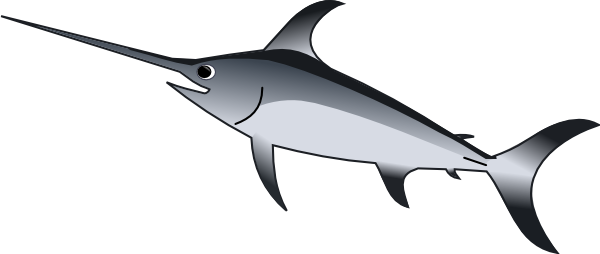 Sword Fish Clip Art