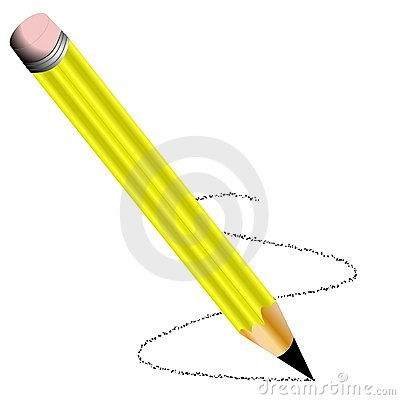 Unsharpened Pencil Clip Art