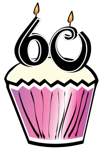 Birthday For 60 Years Old Clipart - Clipart Kid