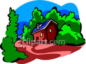 Cabin In The Woods Clip Art