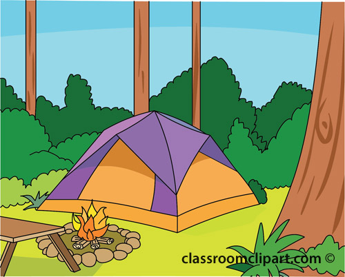Camping   Camping Forest   Classroom Clipart