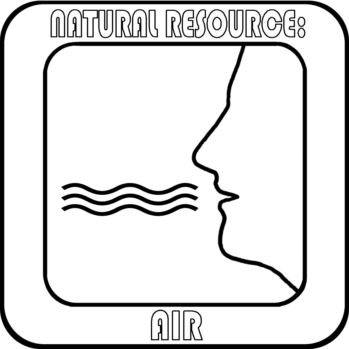Clip Art  Natural Resources  Livestock B W Unlabeled   Abcteach