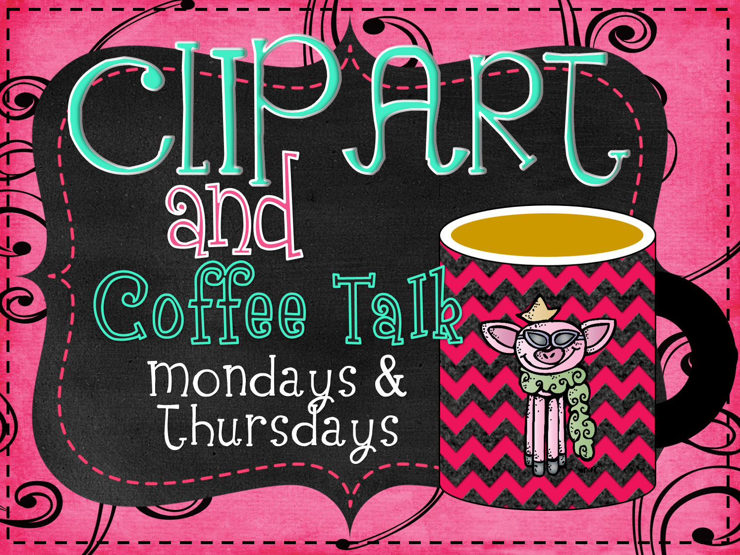 Clipart   Coffee Talk With Whimsy Workshop