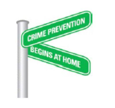 Crime Prevention Clip Art