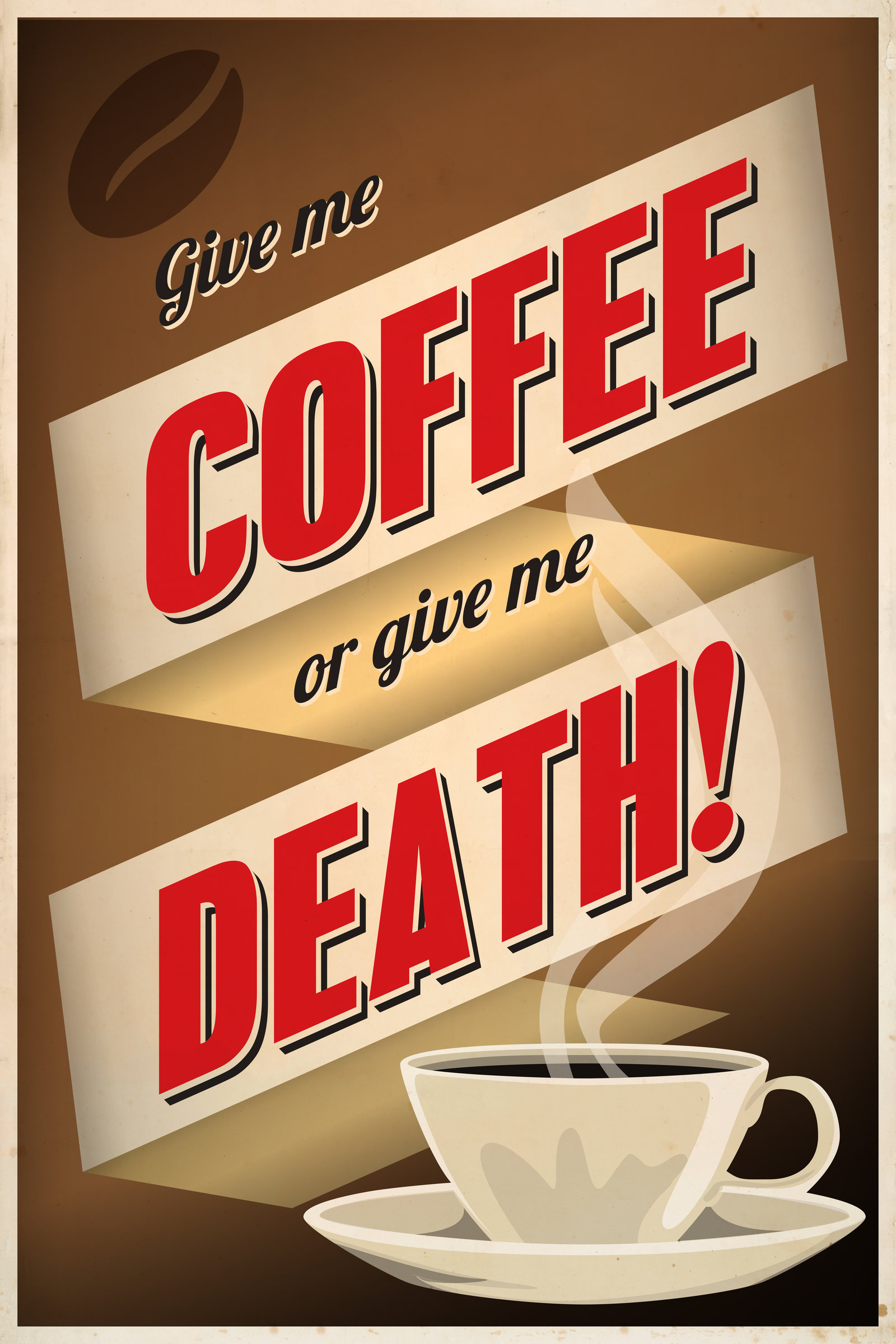 Give Me Coffee Or Give Me Death  By Regicollis On Deviantart