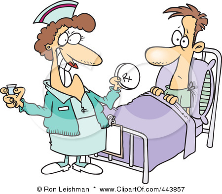 Nurse Administering Medication Clipart   Cliparthut   Free Clipart