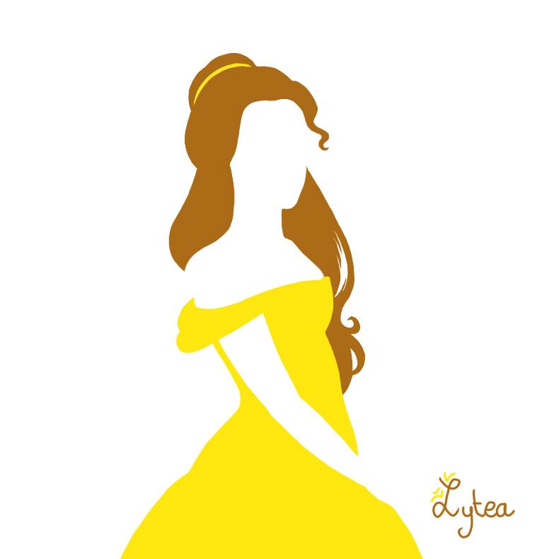 Disney Princess Ariel Silhouettes Tangled Silhouette Cli...