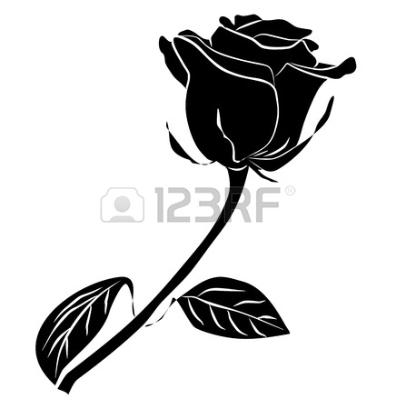 Rose Bouquet Clip Art Black And White   Clipart Panda   Free Clipart