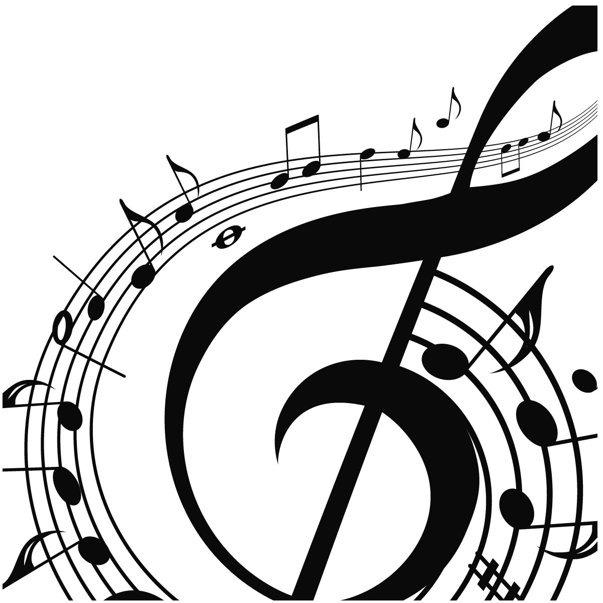 musical notes background clipart clipart suggest clipart of music fest clipart of musical instruments