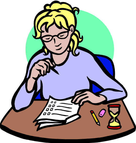 Student Taking A Test Clip Art Free Cliparts That You Can Download To