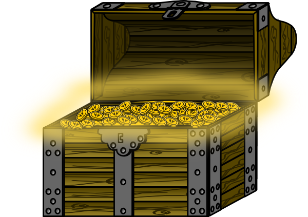 Treasure Chest Clip Art   Images   Free For Commercial Use