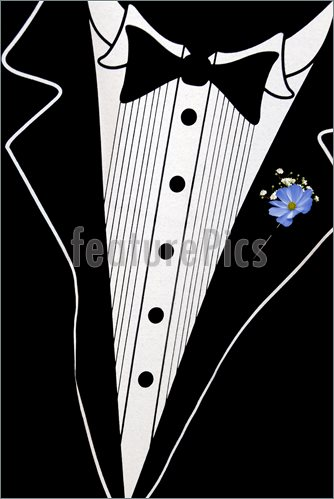 Tuxedo Clip Art Book Covers