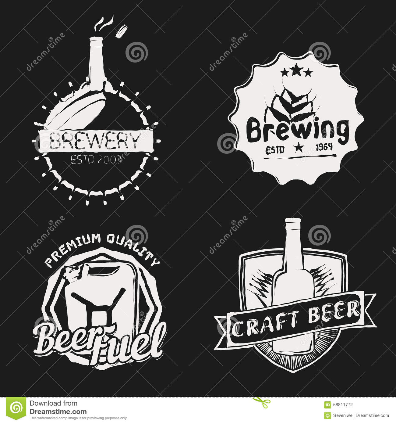 Vintage Brewery  Brewing  Icons