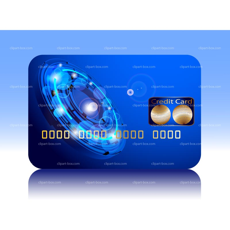 Clipart Credit Card   Royalty Free Vector Design