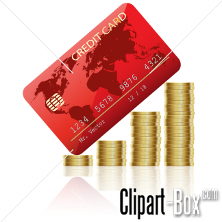 Related Coins And Credit Card Cliparts