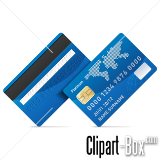 Related Credit Card   Front And Back Cliparts