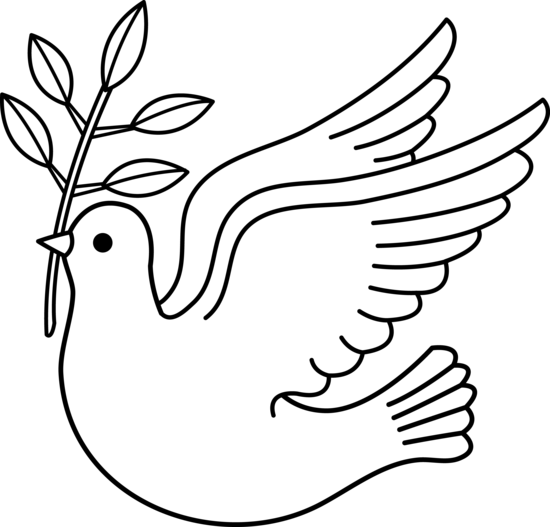 Religious Christmas Black And White Clipart - Clipart Kid
