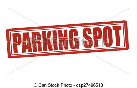 Vector Clip Art Of Parking Spot   Stamp With Text Parking Spot Inside