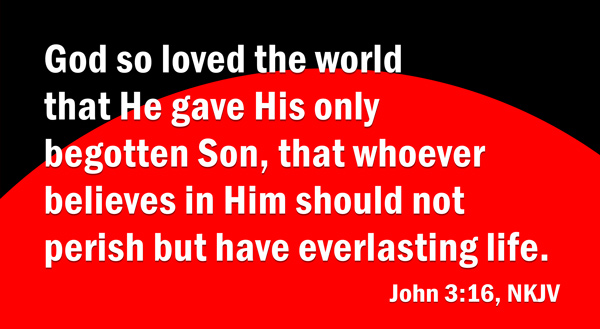 Gave His Son     John 3 16    Free Clip Art   Graphics For Christians
