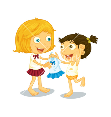 Getting Dressed Clipart For Kids Getting Dressed Vector