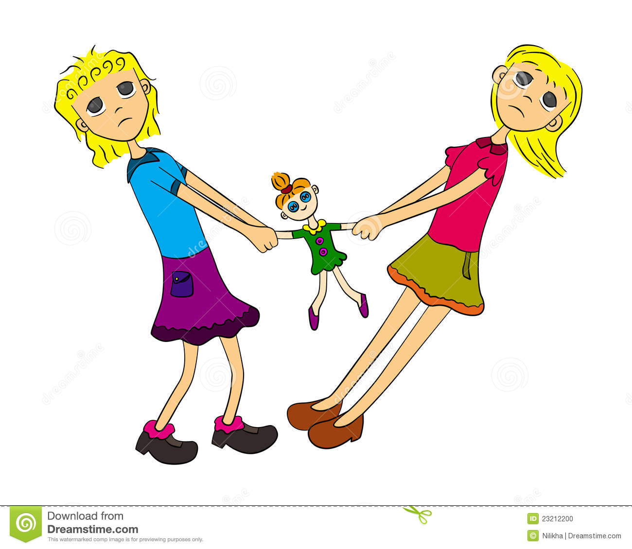 Sisters Fighting Clipart - Clipart Suggest