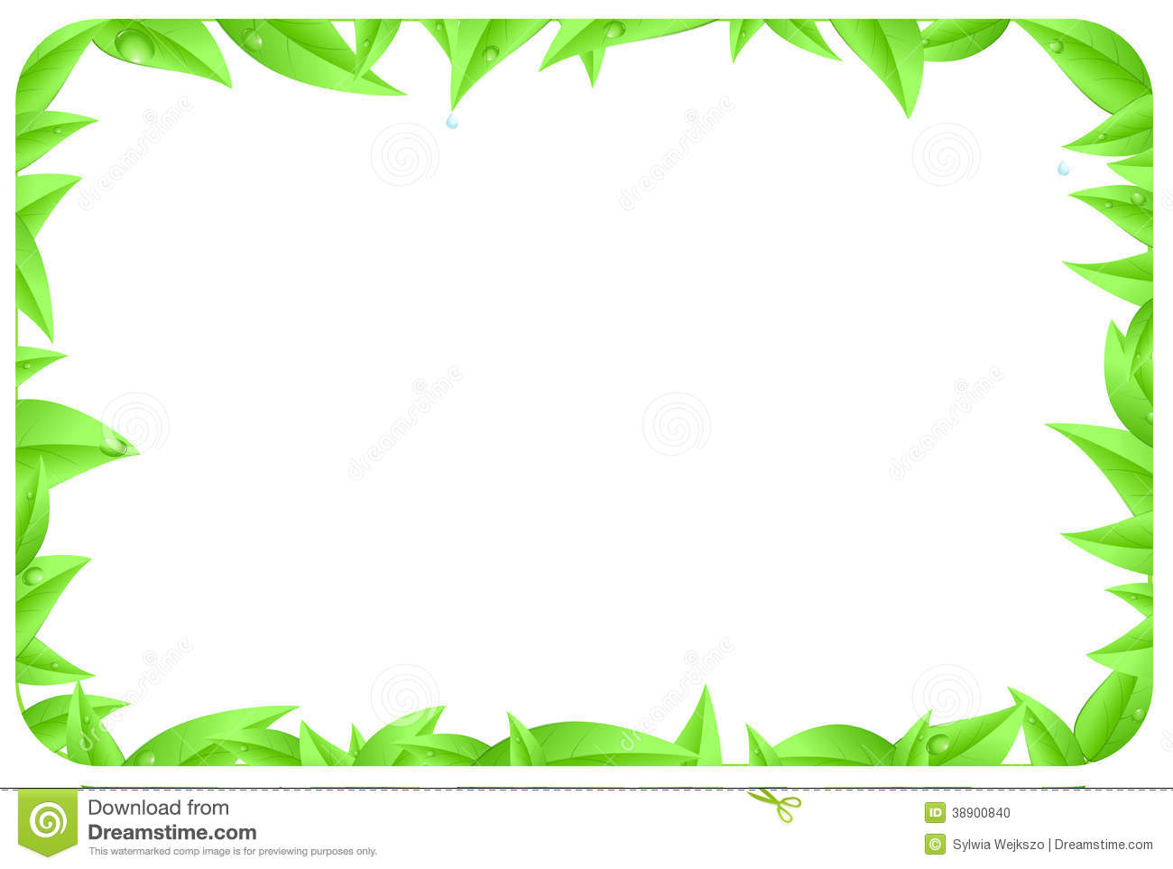 Nature 8x11 Page Border Clipart - Clipart Kid