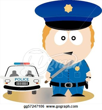 Officer  Vector Illustration For You Design  Vector Clipart Gg57247106