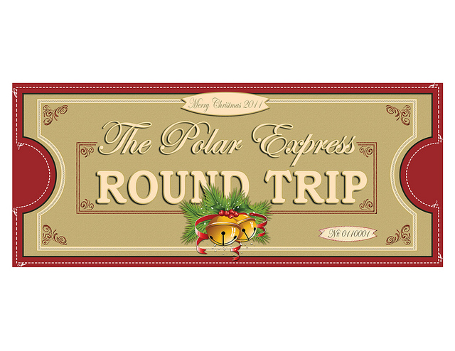 Polar Express Ticket Front 1up 8 5x11   Flickr   Photo Sharing