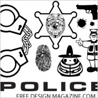 Police Badge Artwork