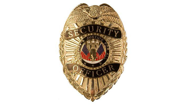 Security Officer Badge  Silver    The Specialists Ltd   The