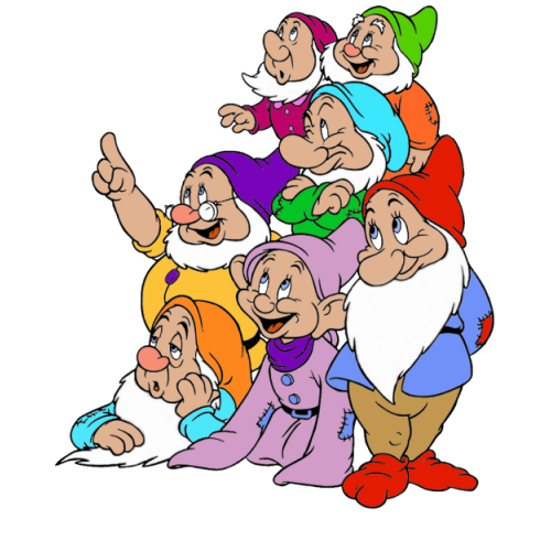 Seven Dwarfs Are Falling Down Falling Down         Whatever Works