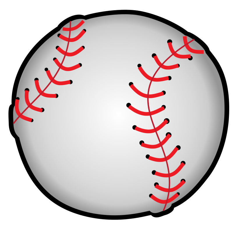 This Nice Baseball Clip Art Is Perfect For Use On Your Baseball