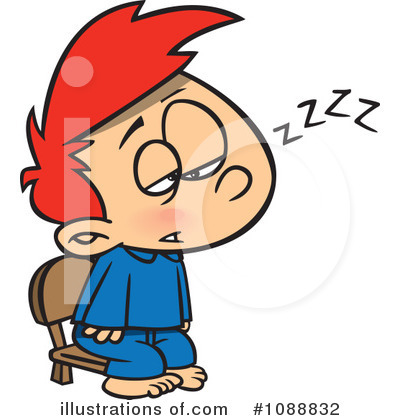 Tired Man Clipart