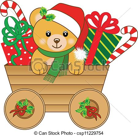 christmas teddy bears clipart clipart suggest. Black Bedroom Furniture Sets. Home Design Ideas
