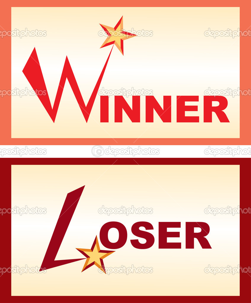 Displaying 20  Images For   Winners And Losers Clipart