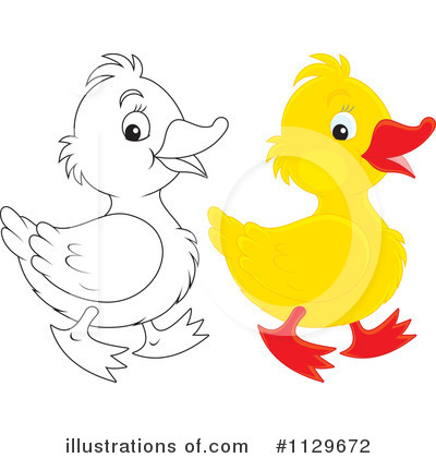 Duckling Clipart  1129672   Illustration By Alex Bannykh